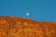 Moonrise Namibia