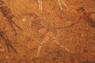 White Lady Pictographs Namibia