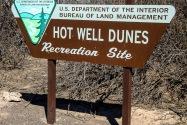 Hot Well Dunes AZ