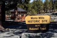 Mono Mills Historic Site CA
