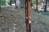 Pacific Crest Trail, Castle Crtags, CA