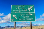 Seven Troughs Mining District NV