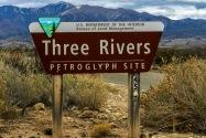 Three Rivers Petroglyph Site NM