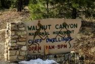 Walnut Canyon NM AZ