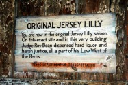 The Jersey Lilly Saloon, Langtry, TX